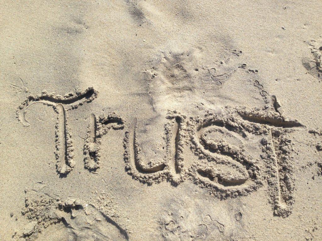 Trust in healthy relationships